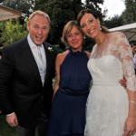 Gli sposi con la ministra della Salute Beatrice Lorenzin