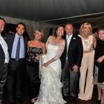 Il papà di Valentina, Gaetano Maria Colucci con gli sposi, e tra gli altri massimo bruno capo relazioni esterne Enel