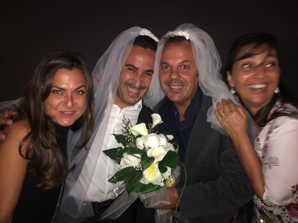 Matrimonio Natale Giunta : La strana doppia coppia si parla di nozze glitter