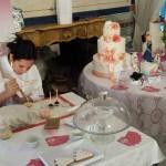 La cake designer Mariagrazia Rizzo