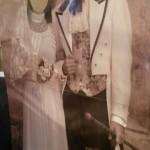 sagoma sposi vintage