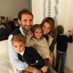 Giorgio, Andrea, Gaia e Agnese Calajó