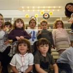 Il gruppo dei bimbi che hanno posato per Little Jo