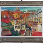 Renato Guttuso I tetti di Roma, 1941 Olio su tela, 60 x 80 cm Palermo Collezione Soprintendenza dei Beni Culturali