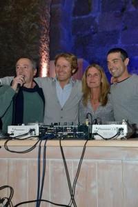 Marco Pomar, Daniele Di Gregoli, Luisa Balsamo e Luigi Zumbo