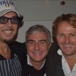 Vittorio Filippone, Mario Guardo e Daniele Di Gregoli
