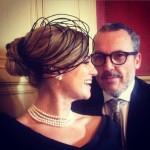 Una splendida Chiara Giglio con il marito Giuseppe Giglio
