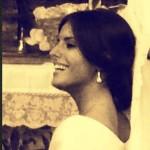 Paola Petronio, la sposa