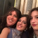 Alla festa catanese Anna e Paola Petronio con Claudia Mangione