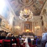 La sontuosa Cappella delle dame