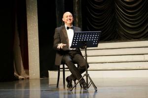 Sasà Salvaggio in scena al Salone Margherita