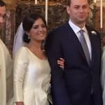 Gli sposi Paola e Vincenzo