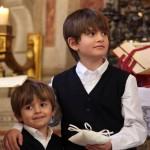 Vittorio e Massimo Fagone, i paggetti