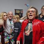 """Lustrini, pailettes e volti noti: è di scena il """"Tv Party"""" targato Anton Emilio Krogh"""