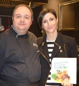 Iannaccone con Eleonora Federici ( master chef)
