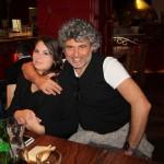 Luca Lo Bosco fotografo storico di Feel Rouge e la modella Jennifer Casa