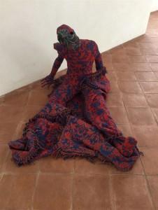 Signor Kappa di Elisa Nicolaci, collezione permanente del museo d?arte contemporanea di Alcamo
