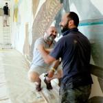 "Canoilas e Weinberger tengono a battesimo la mostra di ""Ficarra Contemporary Divan"""