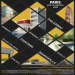 """Sbarca a Parigi la mostra itinerante sulla """"nuova città mediterranea"""" secondo il corso di laurea in Architettura di Palermo"""