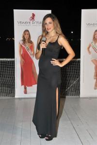 Kiara Ferretta testimonial nazionale e  conduttrice Venere d'Italia