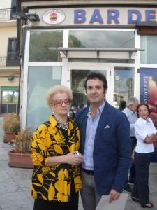 manuela Alaimo e il figlio Lorenzo Catalano