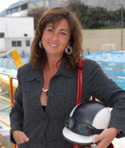 Amelia Bucalo Triglia giornalista palermitana ideatrice e produttrice del Teatro del Fuoco ®