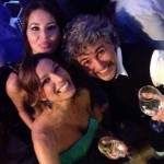 Stefania Baio con Jennifer Casa e Luca Lo Bosco