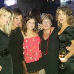 Licia Raimondi, Marzia MAdì, Milvia Averna, Katia Montagna e Maria Mazzola
