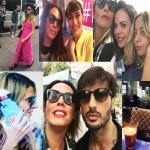 """Tutti li vogliono, tutti li sparlano… Da Miss Italia a Corona, tutti gli incontri della nostra """"Queen"""" alla Milano Fashion week"""