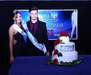 Miss e mister Città di Palermo 2015 Martina Rao e Giorgio Mellina