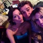Stefania Baio, Fabrizio Trapani e Licia Raimondi