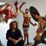 L'artista palermitano Domenico Pellegrino porta a Milano i suoi Supereroi