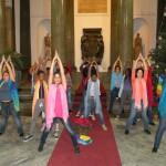 A Palazzo delle Aquile un flash mob di danza per la pace con la consigliera Aluzzo