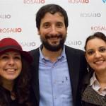 Irene Macaione, Tony Siino e Diana Ricciardi