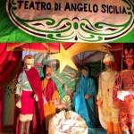 Opera dei Pupi siciliani, ecco la Natività con le marionette di Angelo Sicilia