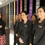 Lo staff Nespresso al femminile