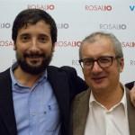 Tony Siino e Sandro Garrubbo