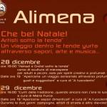 """""""Che bel Natale"""" ad Alimena con eventi e cibo all'interno delle tende yurta"""