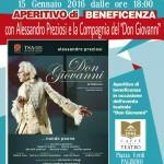 Aperitivo di beneficenza al Caffè del Teatro Massimo con Alessandro Preziosi