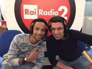 Tiziano Zarantonello e Vincenzo Canzone partecipano al talent W Guglielmo Marconi su Radio Due