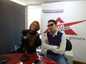 Cinzia Gizzi e Vincenzo Canzone, conduttori di Sorrisi e Canzone su Radio Action