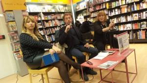 Il soprano Desiree Rancatore, Mario Di Caro e Letizia Battaglia