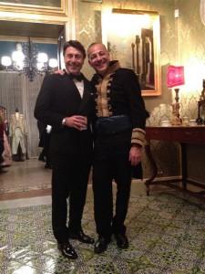 Biagio Brucculeri e Fausto Riccobono