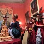 Ballo in costume a Palazzo Francavilla per Massimilano Marafon Pecoraro