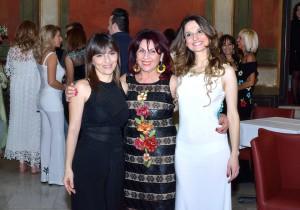 Da sinistra: Tiziana Di Pasquale, Rosa Fortunato, Dalila Napoli