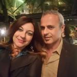 Manuela Zanni e Alberto Samonà