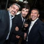 Salvo Toscano, Accursio Sabella e Roberto Benigno