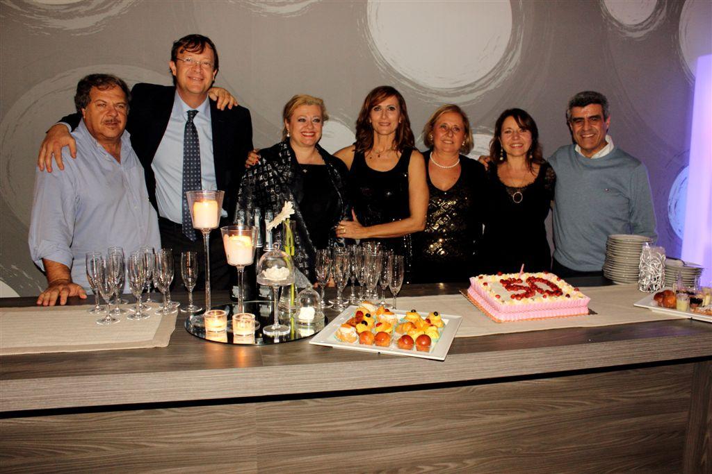 Nicola Lamacchia con Loredana, Romeo Palma con Caterina, Teo Guzzetta con Luisa