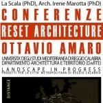 """""""Reset Architecture"""" ovvero come affrontare la società che cambia. Se ne discute all'Università di Palermo"""
