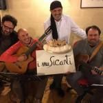 """Peppe Giuffrè e """"I Musicanti"""" al Caffè del Teatro Massimo per andare a tavola con la storia"""